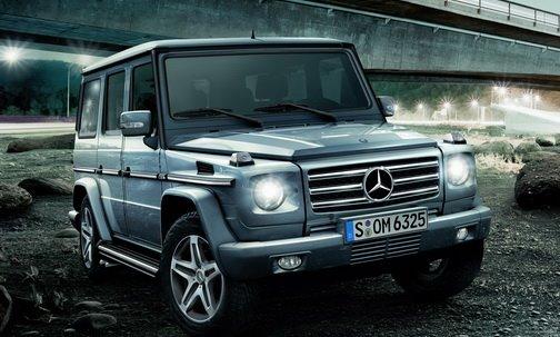Новый G-класс от Mercedes-Benz представят в начале лета