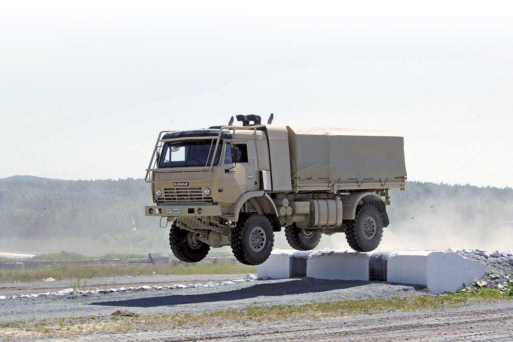 Россия увеличивает объемы выпуска грузовых автомобилей