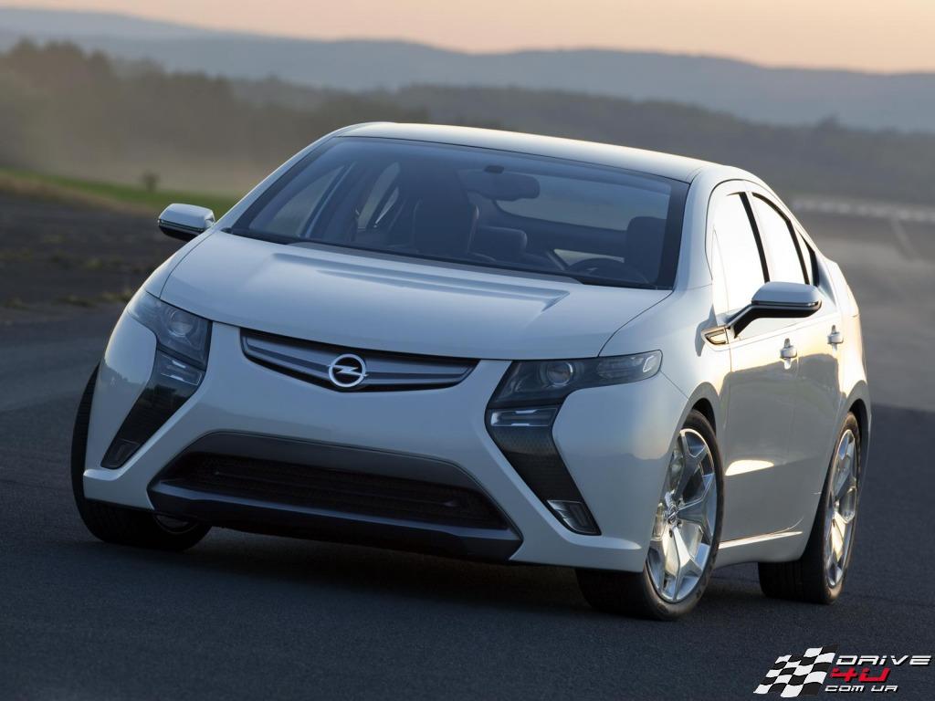 Opel Ampera - лучший европейский автомобиль года