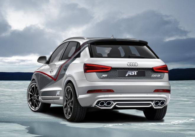 Новая версия Audi QS3 от abt sportsline
