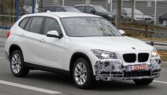 Автошпионы словили обновленный BMW X1