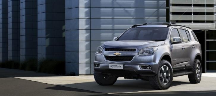 Новый Chevrolet Trailblazer представили в Таиланде