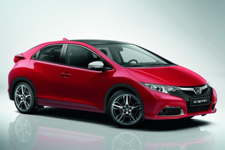 Начало продаж новой Honda Civic 5D в России состоится в апреле