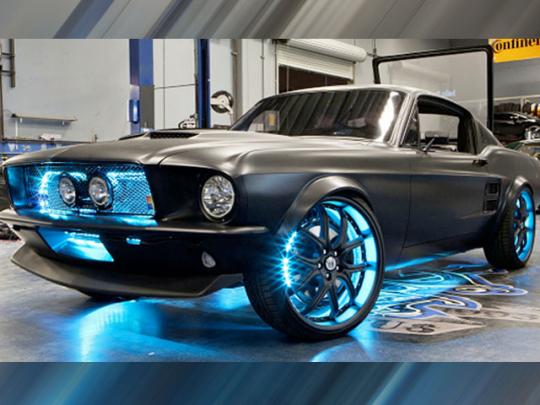 Microsoft Ford Mustang – новая разработка компании