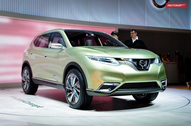 Nissan X-Trail в будущем – концепт Hi-Cross