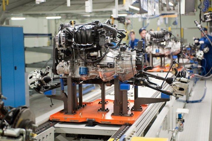 В России рост производства легковых авто - 21%