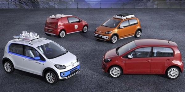 VW представит 4 версии компакта up!