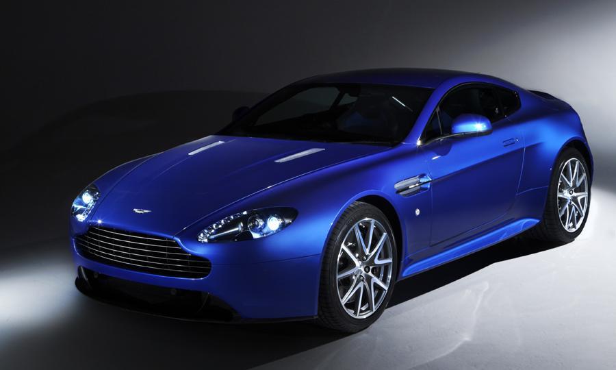 Новый Aston Martin в Москве