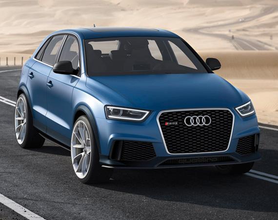 Audi собирается представить в Китае несколько новинок
