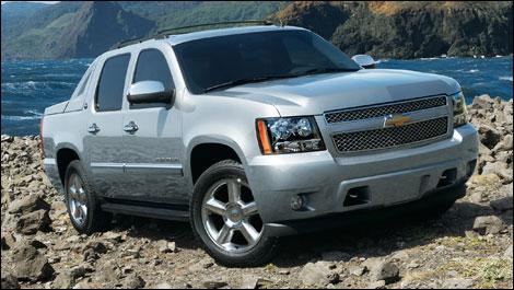 Пикап Chevrolet Avalanche больше не производится