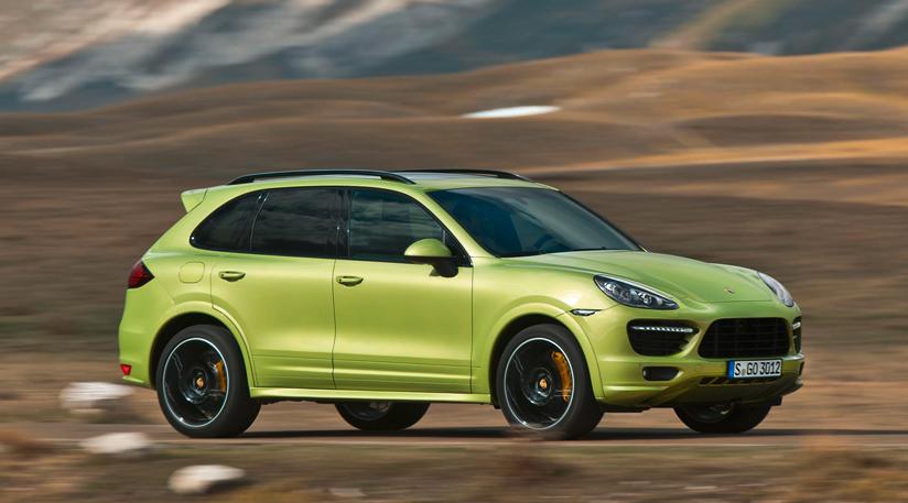 Porsche рассекретил новый Cayenne GTS
