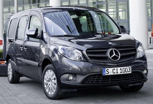 Немецкий автопроизводитель Mercedes-Benz представил новую модель Citan коммерческого направления.