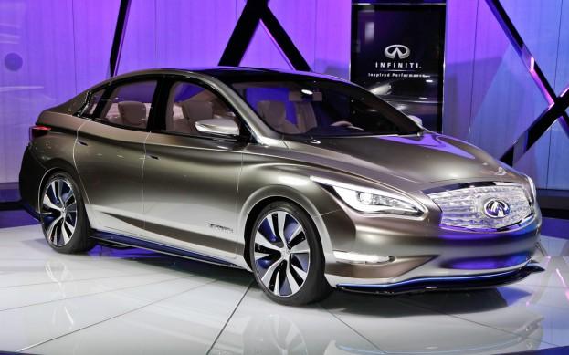 Infiniti представила свою модель электромобиля