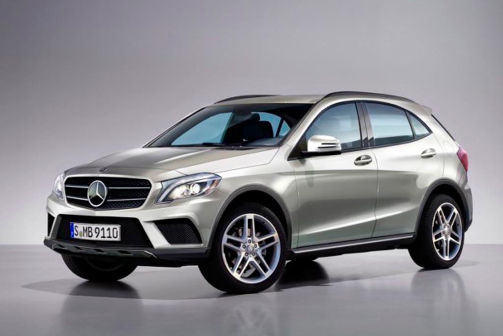 GLA – будущий компакт-кроссовер от Mercedes-Benz