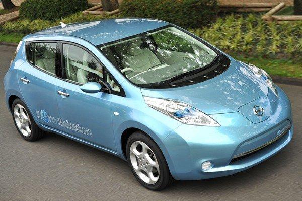 Nissan решил плотно заняться электромобилями