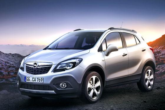 В начале лета начнут принимать заказы на Opel Mokka