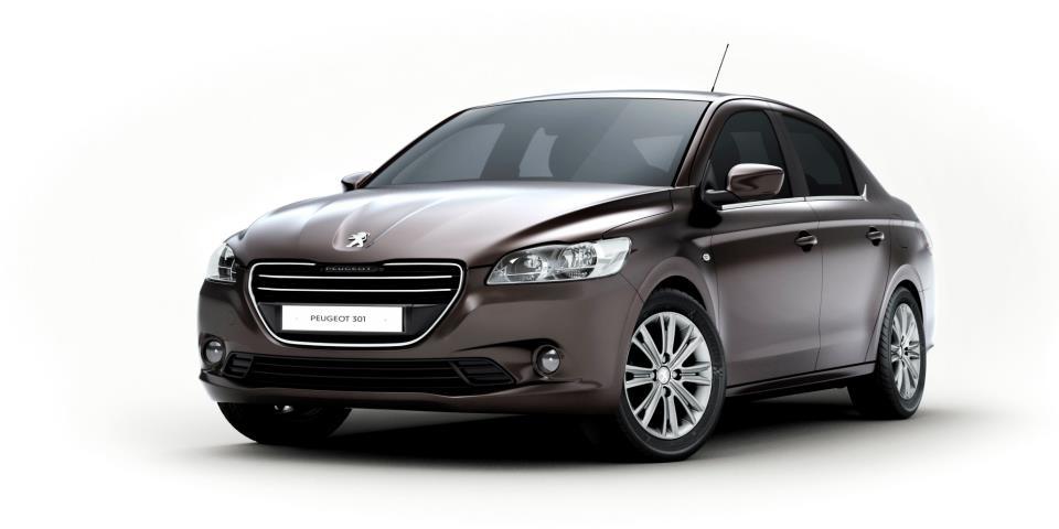 Peugeot представляет компакт-седан 301