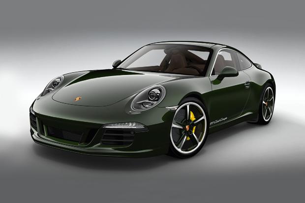 13 специальных автомобилей марки Porsche 911 только для фанатов