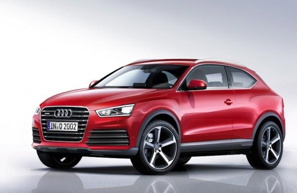 Audi в Париже покажет новый компактный кроссовер Q2