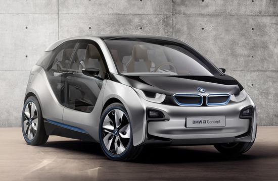 Компания BMW представила концептуальную модель i3