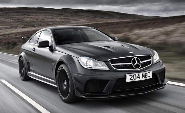 Ограниченная «черная» серия C63 AMG полностью распродана