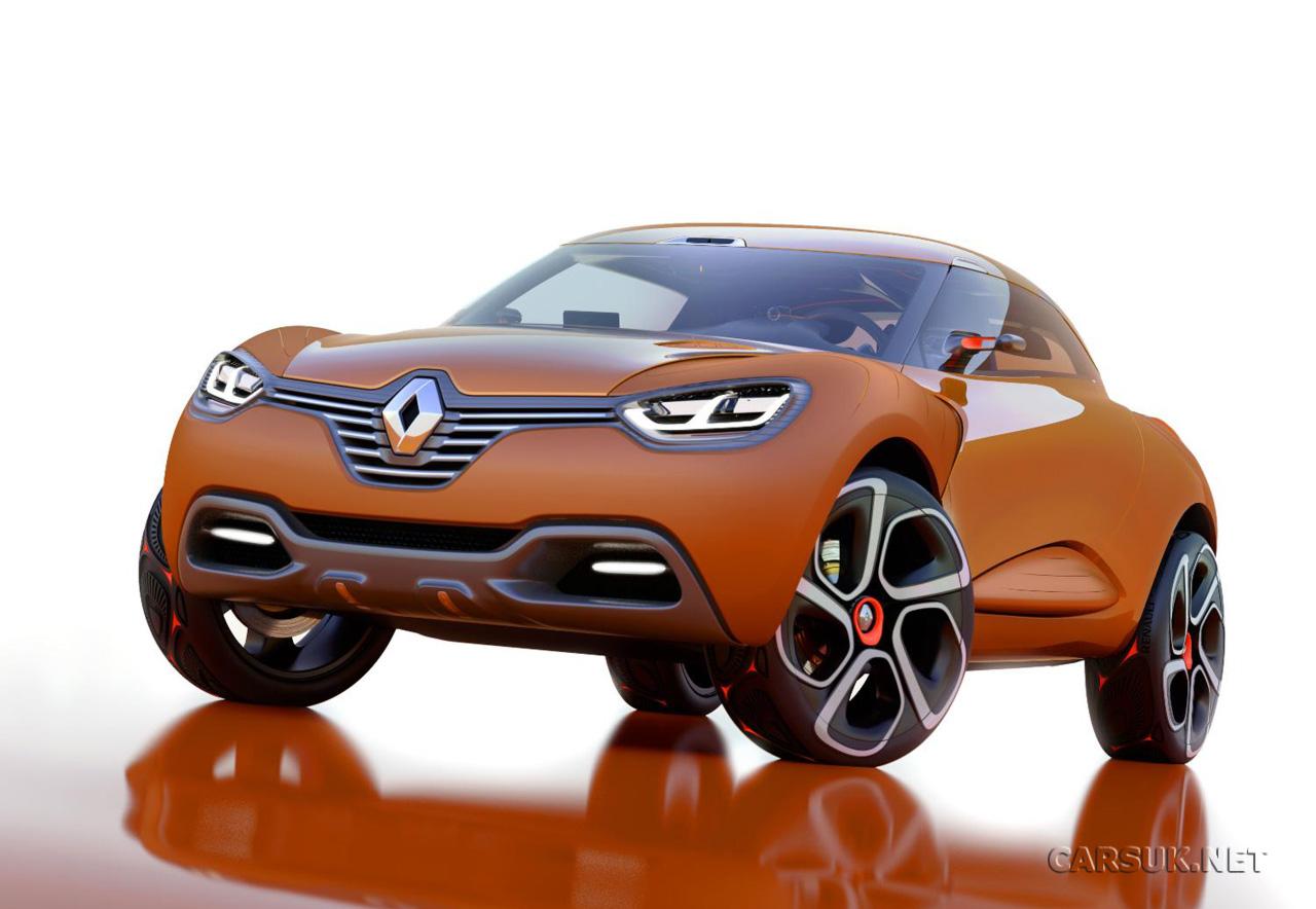 Renault будет выпускать кроссовер Megane