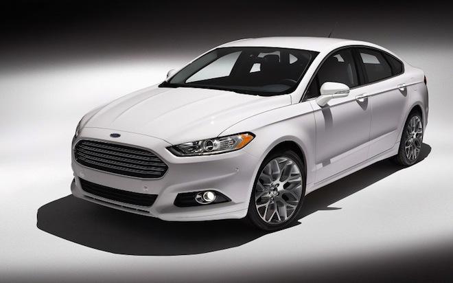 Ремни безопасности Ford Mondeo будут надувать