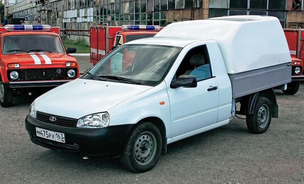 Дочернее предприятие российского автогиганта представило пикап Lada Granta
