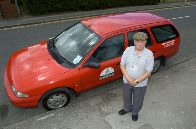 Такси Ford Mondeo проделало 1 млн. миль за 16 лет