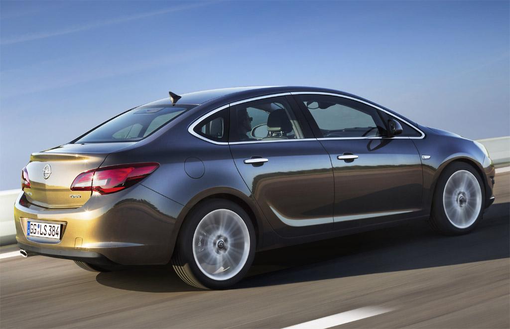 Немецкий концерн Opel закончил разработку седана Astra