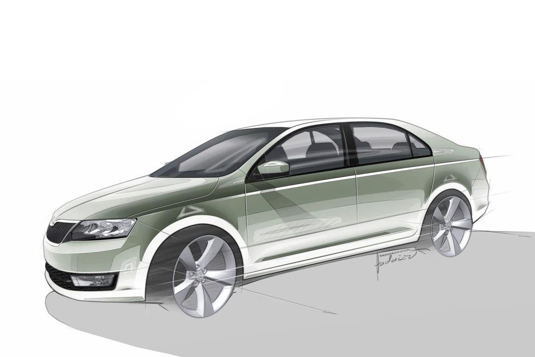 Skoda Rapid должна появится на рынке в 2012 году