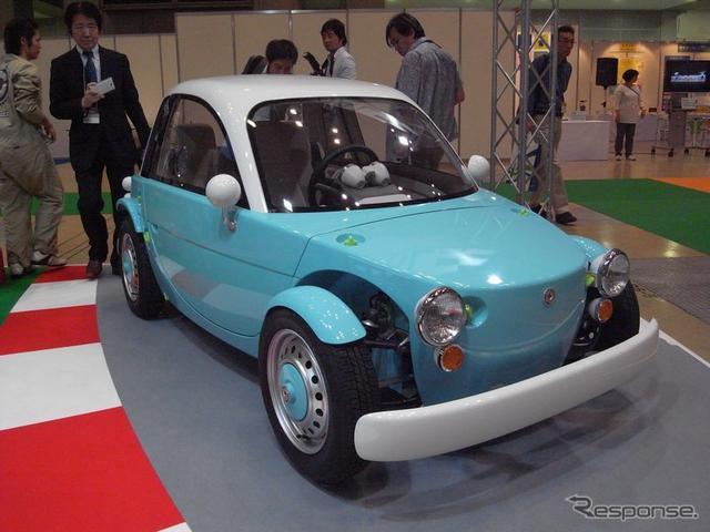 Японская компания Toyota представила модель Camatte