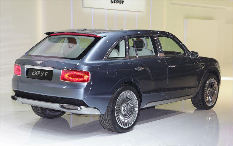 В сети появилось официальное видео Bentley EXP 9F