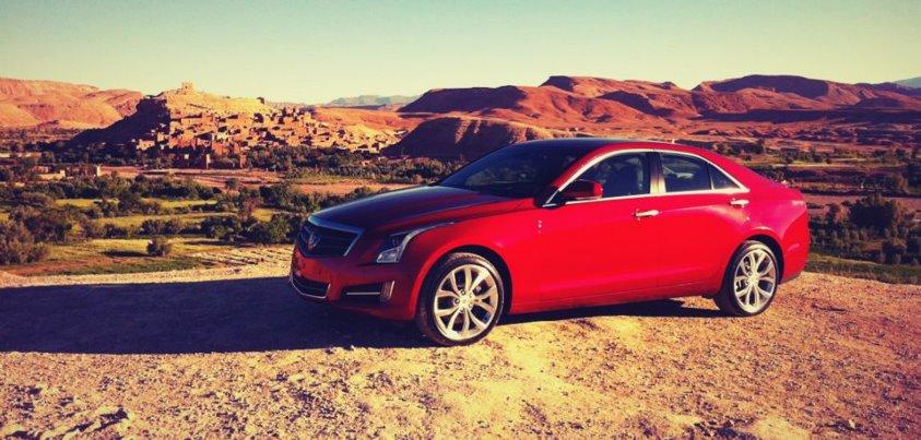 Cadillac ATS 2013 дебютирует в Интернете