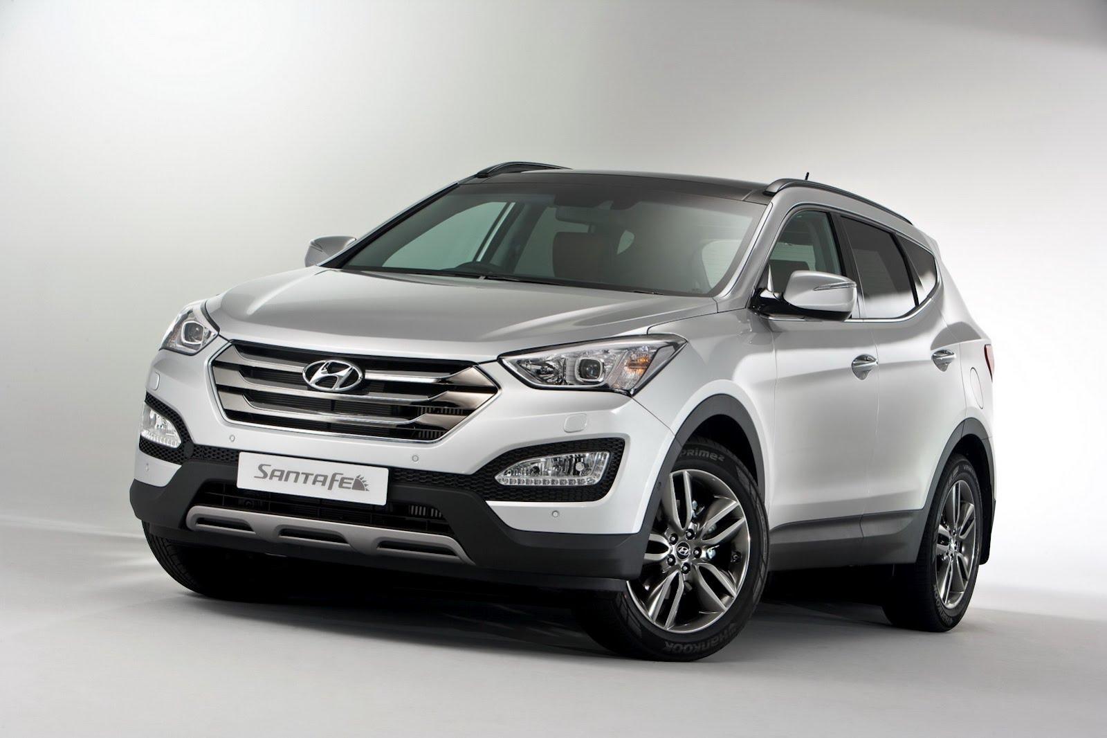 Hyundai Santa Fe оценили в фунтах