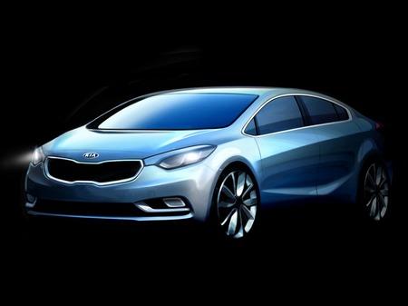 Официальные эскизы нового поколения Kia Cerato появились в интернете