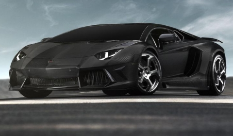Mansory выпускает свой вариант Lamborghini Aventador - Carbonado