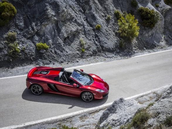 McLaren выпустит представил открытую версию