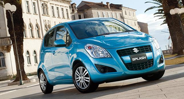 В России ожидается появление обновленного Suzuki Splash