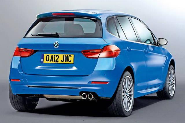 BMW намерена представить первую переднеприводную модель на Парижской автовыставке