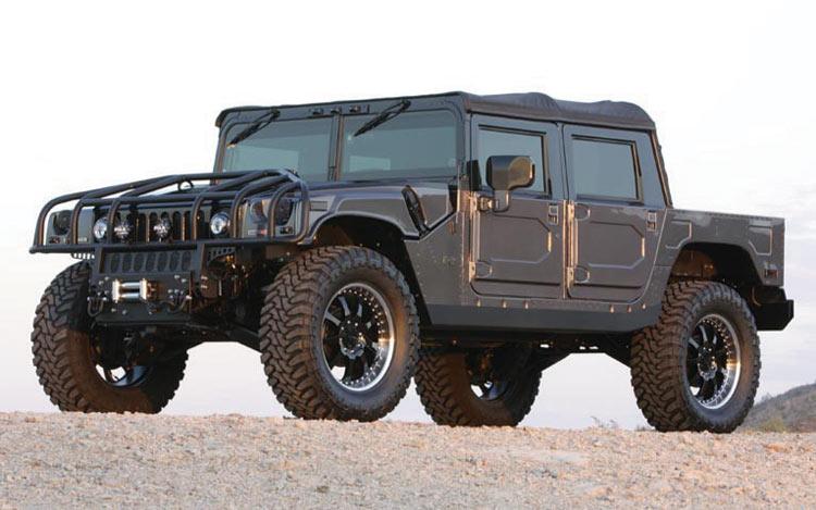 Легендарный Humvee снова на гражданском авторынке