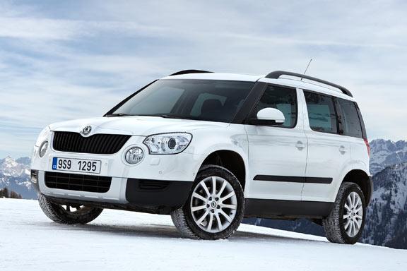 На московской автовыставке будут представлены новые версии Skoda Yeti