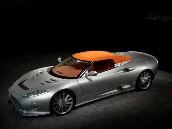 Spyker подыскивает мощный двигатель для своей модели C8 Aileron
