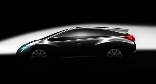Компания Honda намерена выпустить универсал Civic