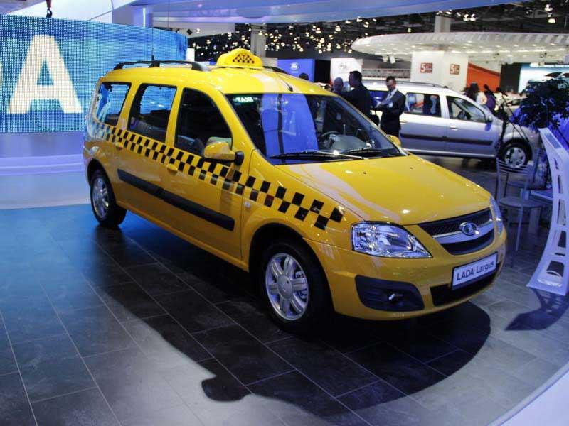 За рынок такси будет бороться специальная модификация Lada Largus