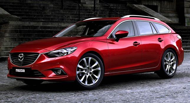 В интернете появились фотографии Mazda 6 Station Wagon 2014