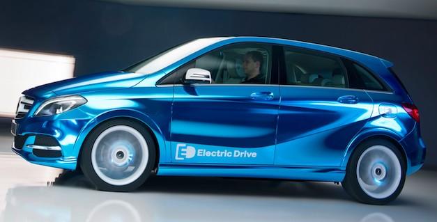 В Париже Mercedes-Benz будет показывать электромобиль B-Class