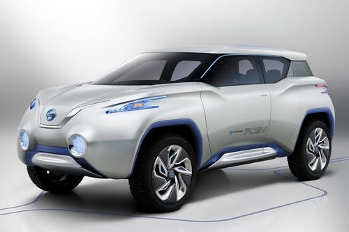 В сети появились первые изображения концептуальной модели Nissan TeRRA