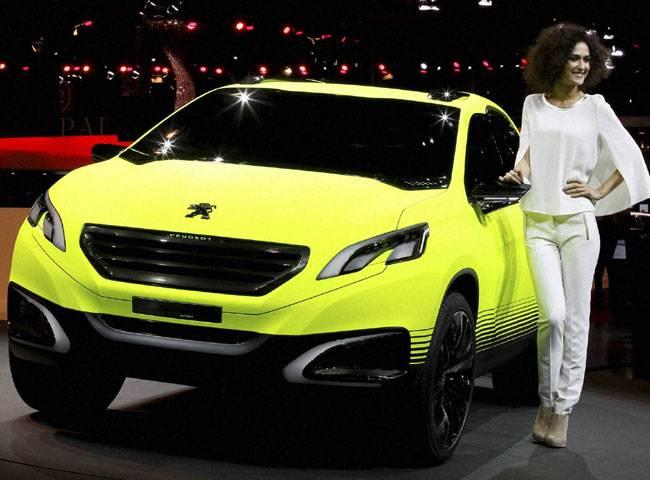 Компания Peugeot намерена представить компактный кроссовер 2008 в Париже