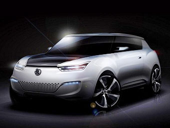 SsangYong планирует показать электрокроссовер на парижской автовыставке